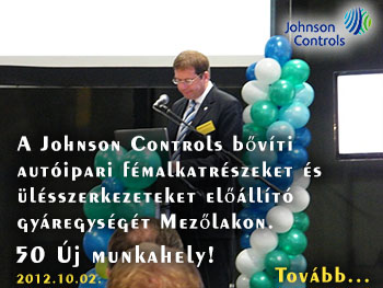 Johnson Controls Mezőlak